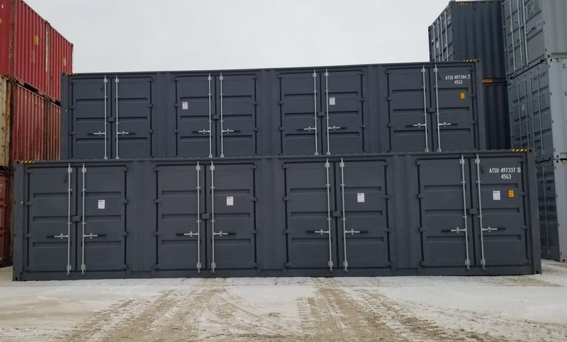 New 40' High Cube With Side Doors