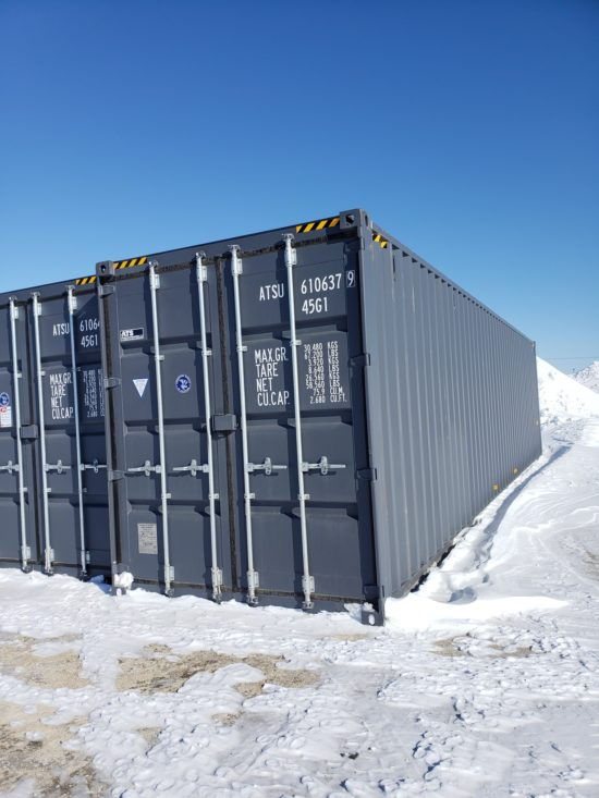 40′ High Cube New Container
