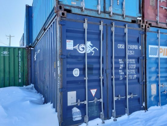 20 ′ Used Container Container