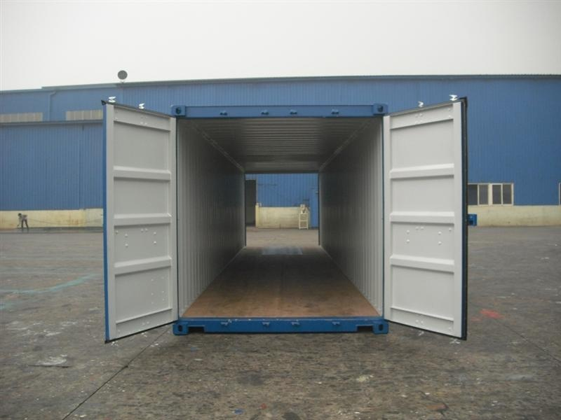 40 High Cube Double Door