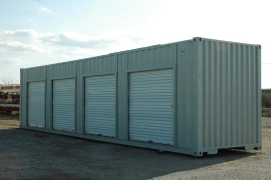 Shipping Container With Roll Up Doors ( All Sizes)
