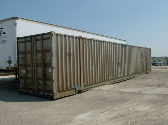 53′ Used High Cube Steel Container