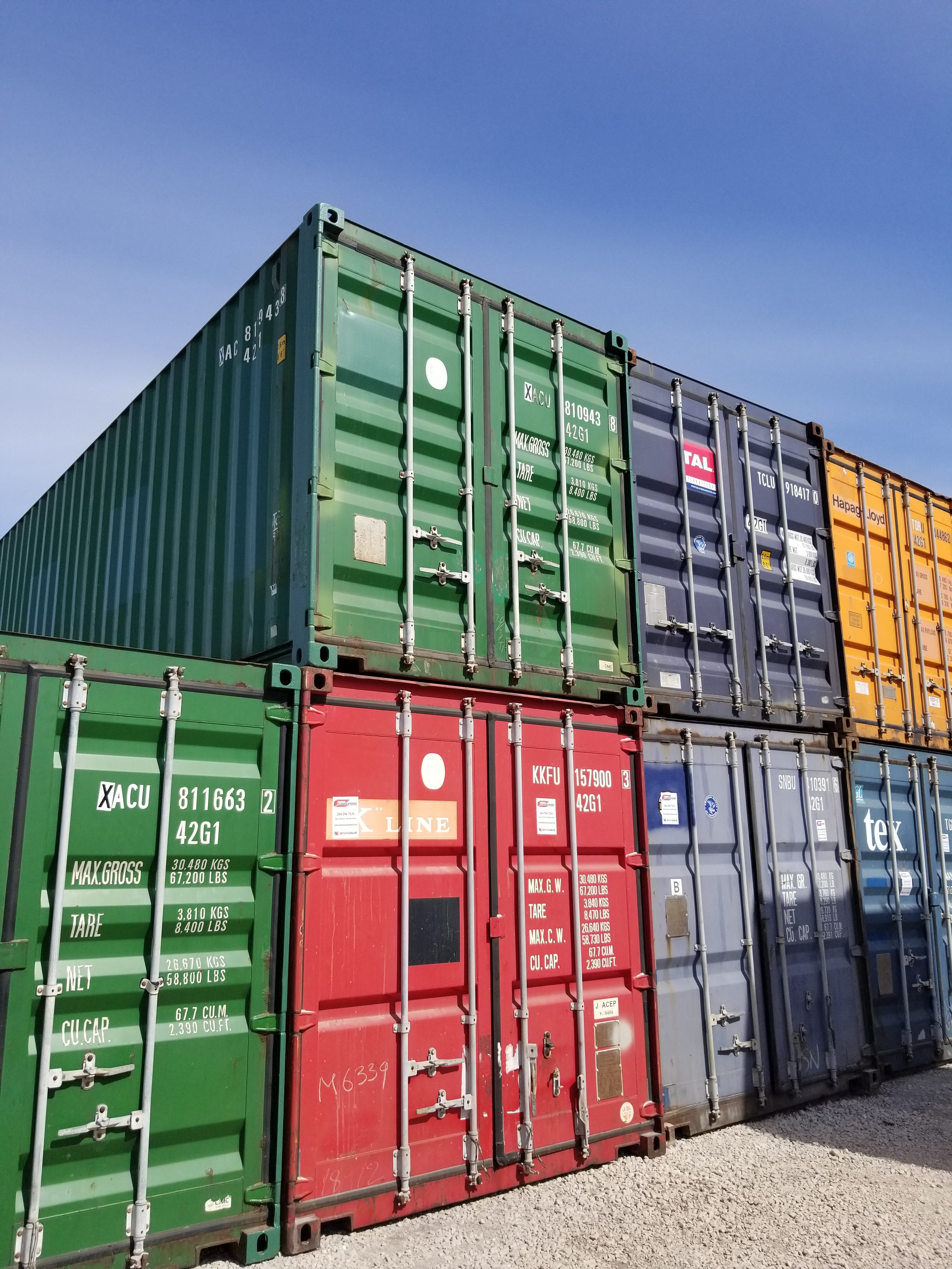 40′ Standard Used Container (8.6 ft High) - New Used Sea ...