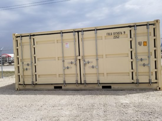 20′ New Open Side New Container