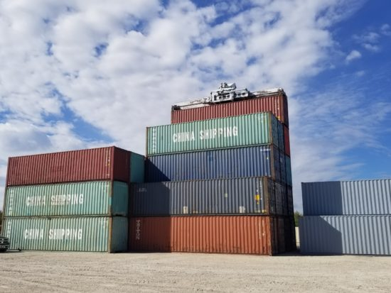40′ Used Hi-Cube (9.6 Ft High)  Container