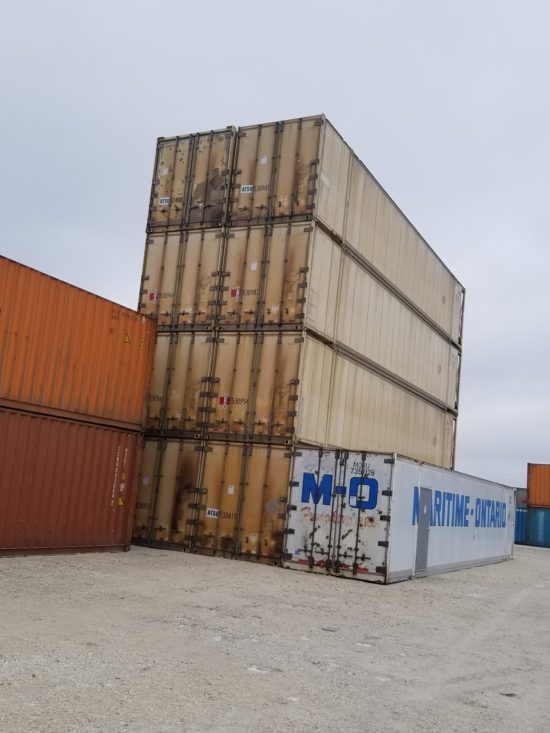 53′  High Cube, Insulated Used Container ( Working & Non Working Reefers)