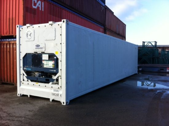 40′ High Cube Used Fully Insulated  (Reefer Container)