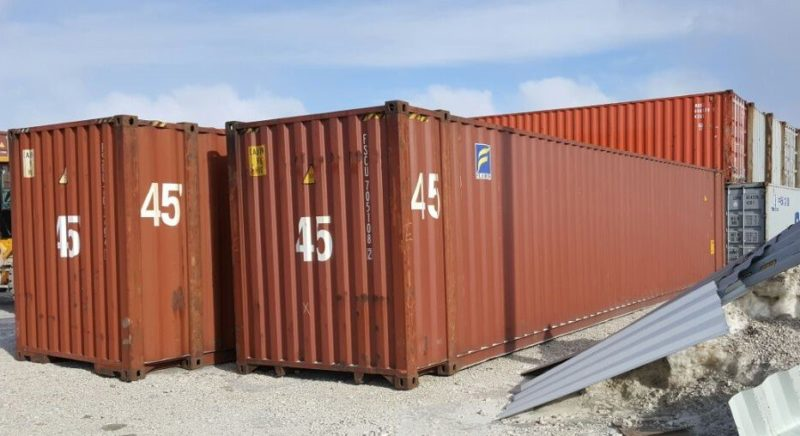 45′  High Cube Used Container