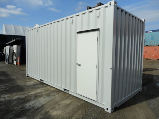 20′, 40′ Man Door Containers ( Modified & Refurbished)